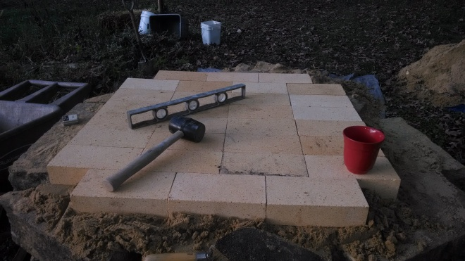 Build a foundation, then level up the fire bricks