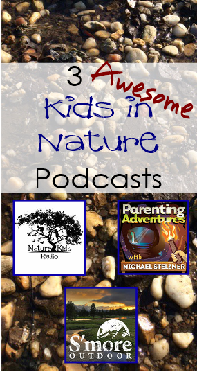 3 Awesome Kids in Nature Podcasts {https://pocketmousepublishing.com/