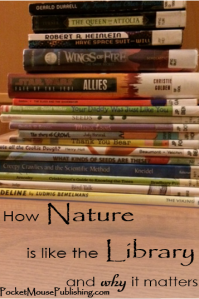 How Nature is like the Library