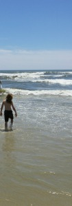 Taking children to new nature places -- the ocean!